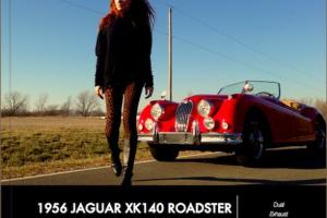 1956 Jaguar XK140 3.4L Dual Exhaust - Matching Numbers