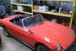 MGB 1977 Roadster Convertible Hardtop MG