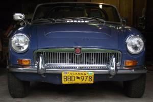 MGC Convertible, Rare AUTOMATIC, Left-hand Drive, LOW-Miles-Once-in-a-lifetime