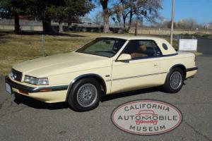 Very Nice Condition Chrysler TC by Maserati