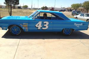 1966 PLYMOUTH BELVEDERE- RICHARD PETTY TRIBUTE CAR