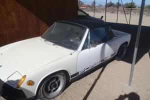 1976 Porsche 914 white with black interior ..Excellent body and interior no resv