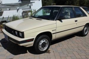 1985 Renault AMC Encore hatch back, 39,000 orginal miles