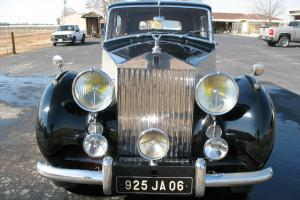 1951 Rolls Royce Silver Wraith Milliner 7P Limousine Great History! Photo