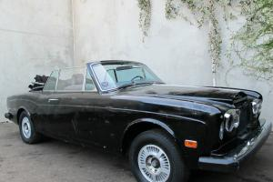1969 Rolls-Royce Corniche Convertible, left hand drive, original California car