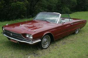 1966 Ford Thunderbird Convertible 390 Cubic Inch 11 Months NSW Rego NO Reserve