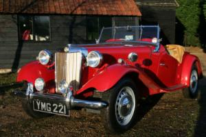 MG TD 1953, Original UK RHD Car Photo