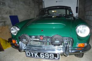 1970 MG C GREEN Photo