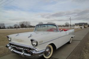 1957 CHEVY BELAIR convertible hot-rod (all-new) frame off cold air MUST SEE