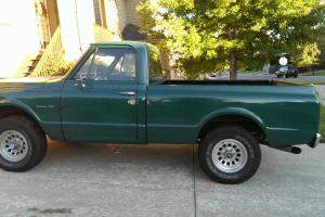 1971 Chevrolet C-10 4x4 Short Bed 350 Ram Jet Engine Automatic with A/C