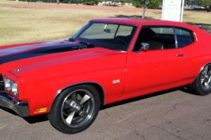 1970 CHEVELLE SS 396, RESTORED, 4-Speed, A/C, Cowl Induction