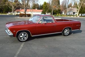 1966 Chevrolet El Camino 59k Orig Mile #'s Matching CA Survivor 327/275 4 Speed