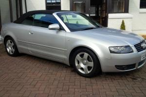 2002(52) AUDI A4 2.4 V6 SE CABRIOLET * CHEAPEST LOW MILEAGE A4 CAB ON EBAY * Photo