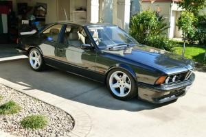BMW 1985 E24 M635 Black Coupe M6 M635CSi ///Motorsport M power