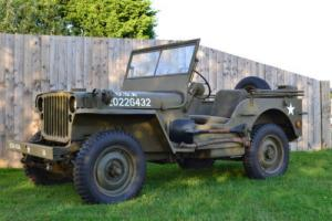 Willys 1942 World War 2 Military jeep