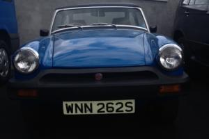 1978 MG MIDGET 1500 BLUE FULLY RESTORED EVERY BOLT REMOVED  Photo