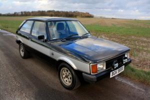Talbot Sunbeam Lotus, 1981. Classic Black and Silver.