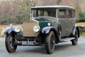 1929 Rolls-Royce 20hp H J Mulliner Weymann Saloon GVO60 Photo