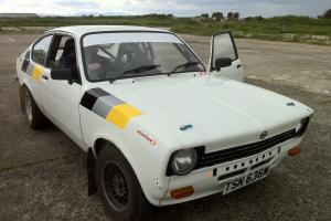 OPEL KADETT COUPE Historic Rally Car Start Price and Reseve Reduced