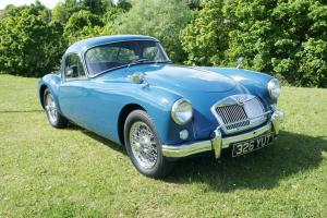 1958 MGA COUPE 1500 FULLY RESTORED LHD (UK REGISTERED CAR)