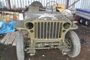 Ford GPW 1944 for Restoration Ford Jeep