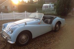 1962 TRIUMPH TR3 B Photo