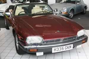 Jaguar V12 XJS 1991 Convertible