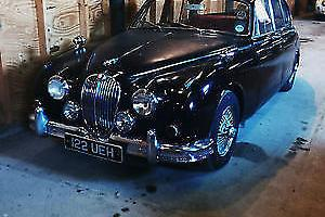 JAGUAR 3.8 MANUAL OVERDRIVE, BLACK 1961