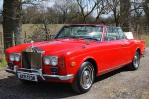 1975 Rolls Royce Corniche Convertible, Very special car in Excellent Condition. Photo
