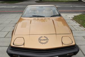 Triumph TR7 Convertible Gold 1981 Stunning Restoration Show Car. Photo