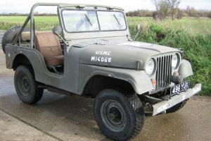 WILLYS JEEP M38 A1 - 1959 BUILT - LONG MOT AND TAX.