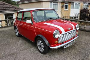 1993 ROVER MINI COOPER 1.3I RED/WHITE