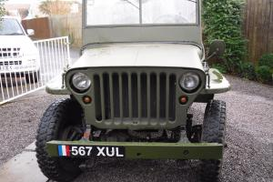 1953 HOTCHKISS M201 NON-AMERICANISED JEEP