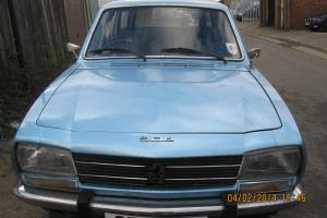 1978 PEUGEOT 504 FAMILY 7 SEATER ESTATE CLASSIC CAR MOT AND TAXED