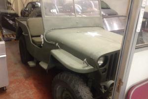 WILLYS JEEP WW2 1942 JUST ARRIVED FROM TEXAS ON THE KEY CLASSIC AMERICAN RARE