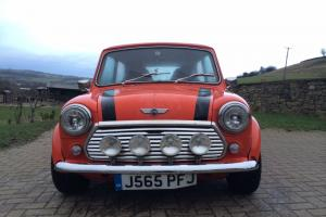 CLASSIC 1992 ROVER MINI 1000 CITY E RED MAY PX SWAP Photo