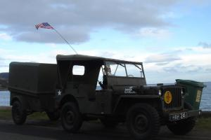 1942 WILLYS FORD GPW WW2 JEEP AND TRAILER