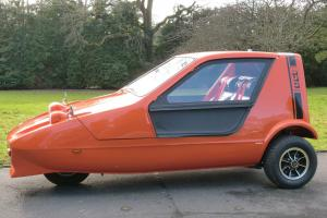 1972 Reliant Bond Bug three wheeler, in show condition.