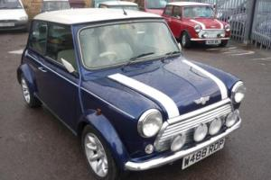 Rover Mini Cooper Tahiti Blue Photo
