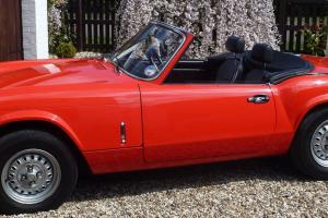 1978 Triumph Spitfire 1500 Vermillion Red Original Car Genuine 14157 Miles
