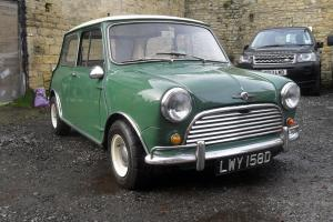 MK1 1966 MORRIS MINI COOPER GREEN/WHITE