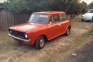 Leyland Mini 1975 2D Sedan 4 SP Manual NO Reserve in Woori Yallock, VIC Photo
