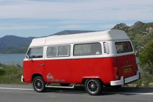 VW T2 Camper * RARE RIVIERA PENTHOUSE* California import 1973 LHD