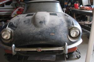 Jaguar E type 1971 roadster serie 2, matching numbers, fantastic barn find!! Photo