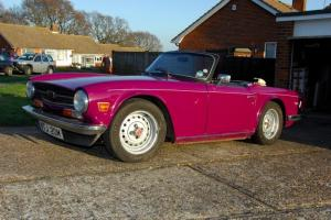 Triumph TR6 Restoration project nearly complete! Photo