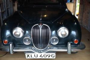 Barn find MK2 Jaguar 240, my car swap.