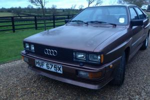1981 AUDI QUATTRO UR WR TURBO Photo