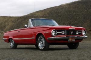 1964 Plymouth Valiant CONVERIBLE with classic Slant-6 engine & manual gearbox