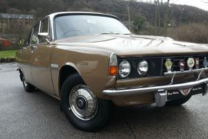 Restored Rover P6 2000, outstanding condition, 30k miles, true time warp car