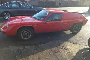 lotus Europa S2 twin cam elan cortina escort twincam engine L block 701 tax&mot